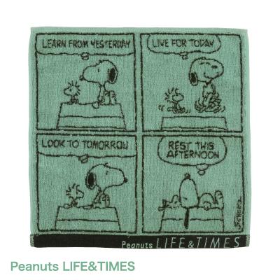 Peanuts LIFE&TIMES ミニタオル (コミック)