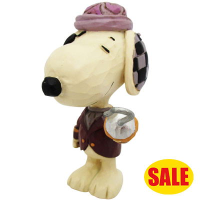 PEANUTS JIM SHORE ミニフィギュア Pirate