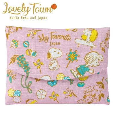 スヌーピー かぶせティッシュケース/LOVELY TOWN(Japan)