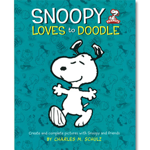 SNOOPY Loves to Doodle スヌーピー らくがき帳
