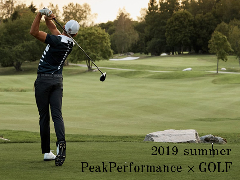 2019 summer PeakPerformance GOLF