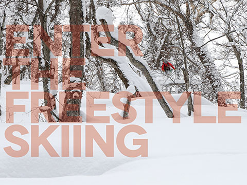Enter the Freestyle skiing