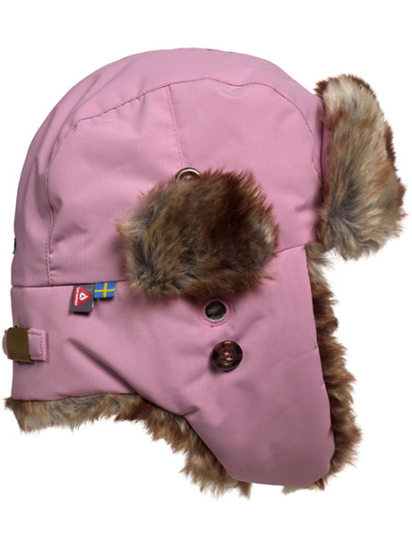Squirrel Winter Cap(I3W Dusty Pink, 44-46cm)