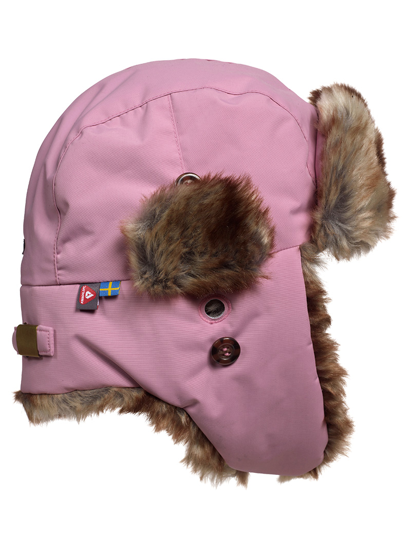 Squirrel Winter Cap(I3W Dusty Pink, 52-54cm)