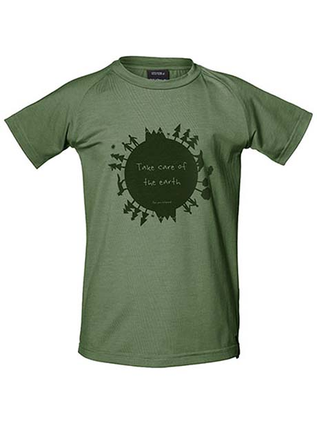 Earth Tee Kids(I3Y Moss, 110-116cm)