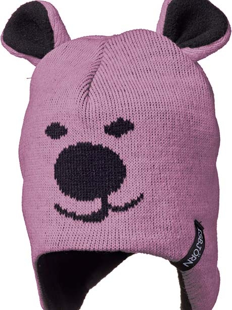 ISBJORN Knitted Cap(I3W Dusty Pink, 44-46cm)