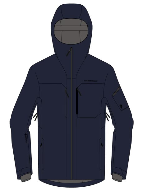 Alpine 2L Jacket(2N3 Blue Shadow, S)
