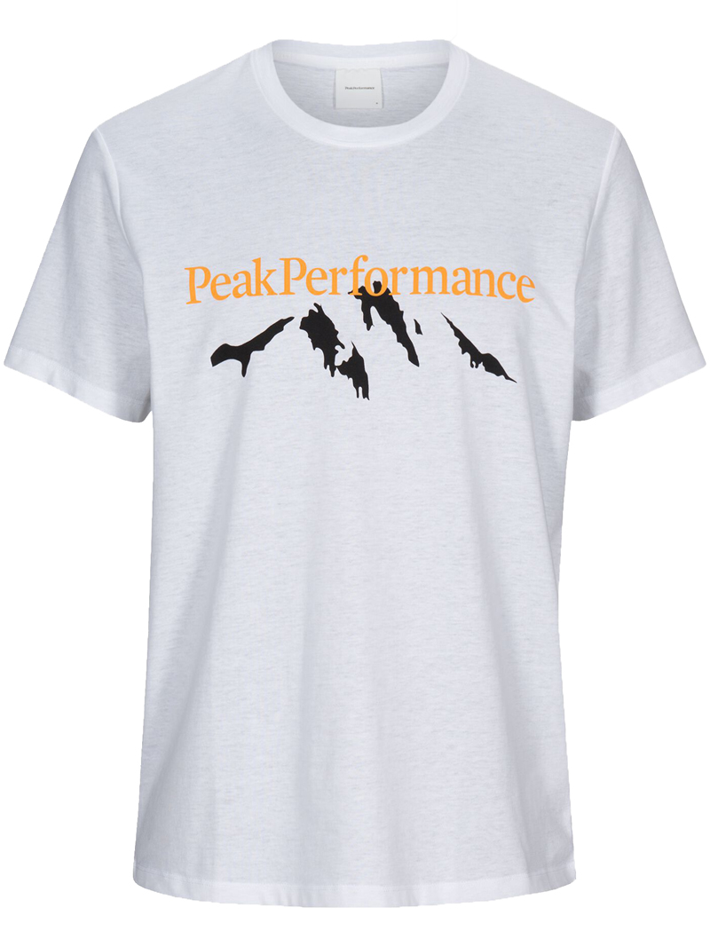 Explore Tee Mountain Print(089 White, S)