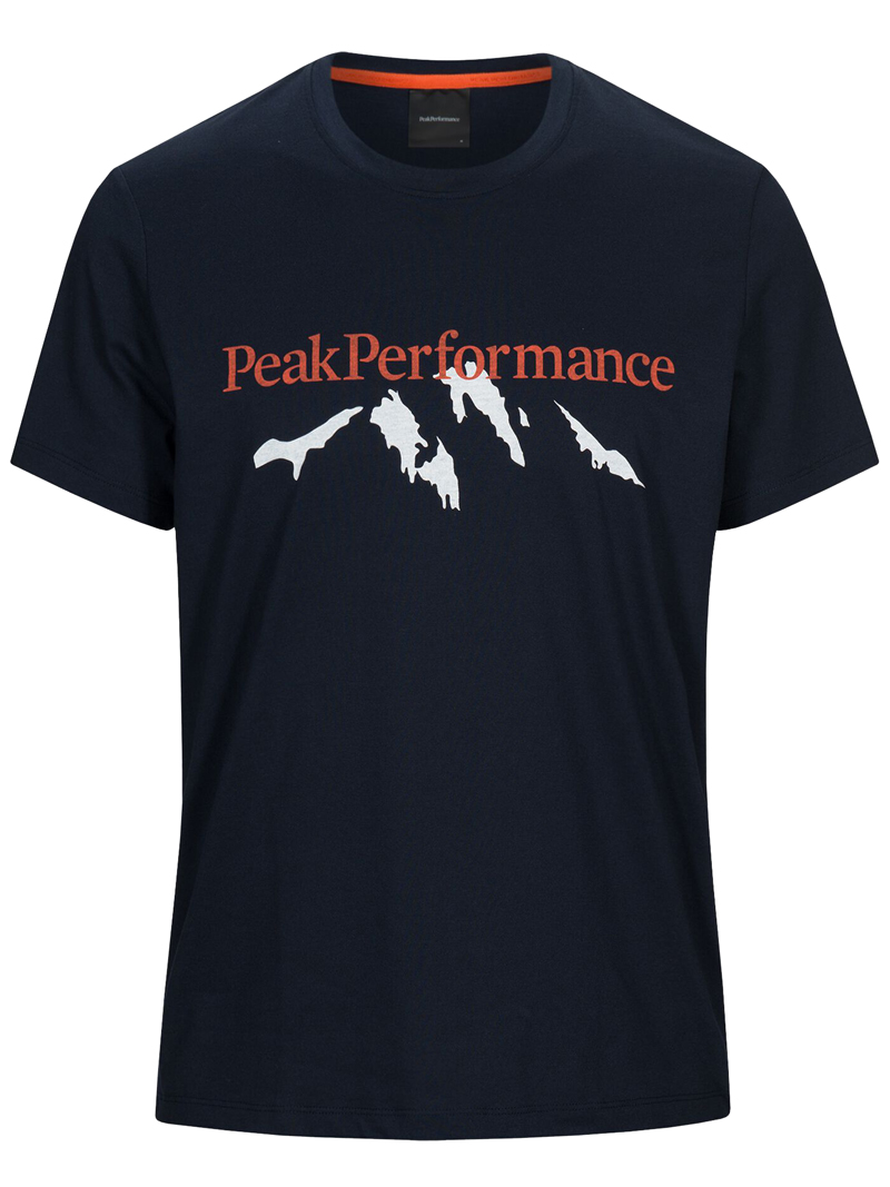 Explore Tee Mountain Print(2N3 Blue Shadow, L)