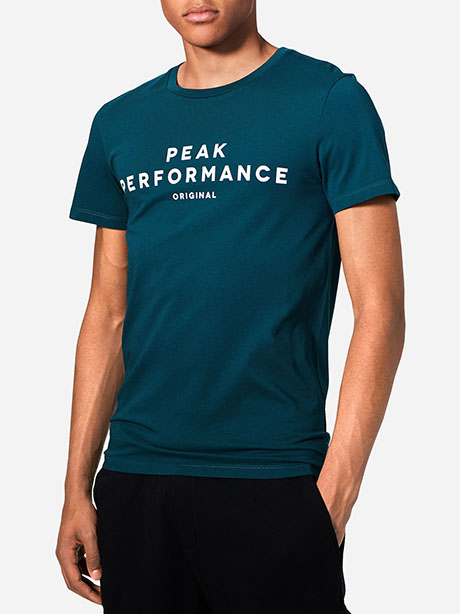 Logo Short Sleeve(4CY Teal Extreme, M)