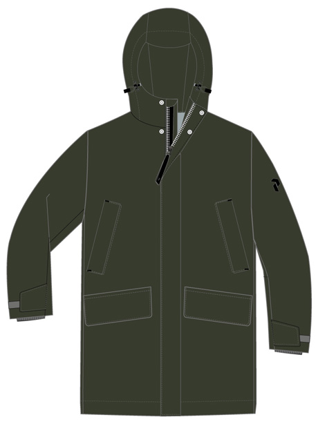 Unified Parka(4EP Coniferous Green, L)