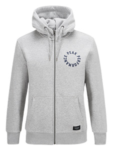 Sweat Zip(M03 Med Grey Mel, M)