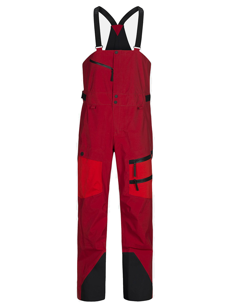 Vertical Pants(5X3 Dark Chili, S)