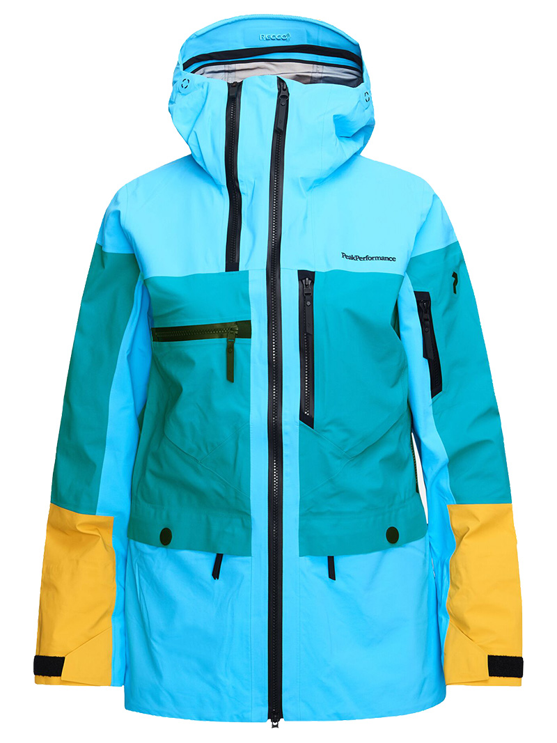 W Vertical Jacket(2BN Deep Aqua, XS)