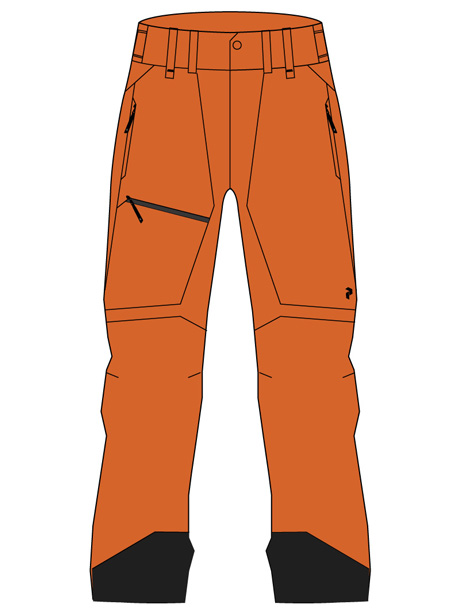 Alpine Pants(86X Orange Altitude, M)