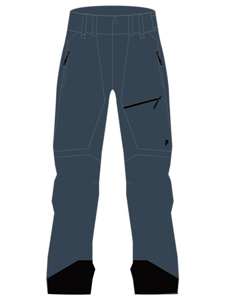 W Alpine Pants(2Z8 Blue Steel, L)