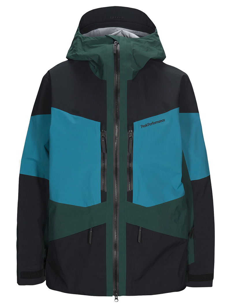 Gravity Jacket(2BN Deep Aqua, M)