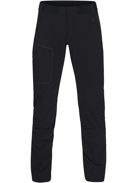 W Lite Softshell Pants(050 Black, XS)
