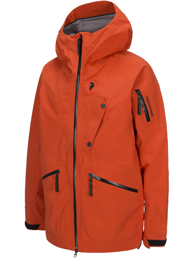 Bec Jacket(85N Orange Lava, M)