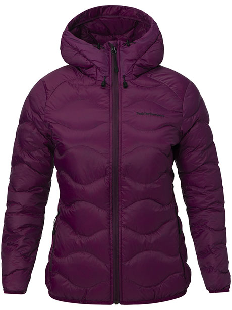W Helium Hood Jacket(6E4 Blood Cherry, S)