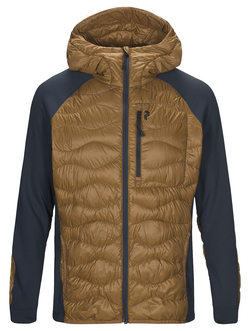 Helium Hybrid Hood Jacket(1V3 Honey Brown, M)