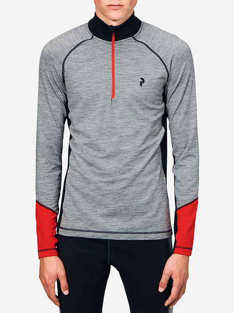 Magic Half Zip(M08 Grey Mel, M)