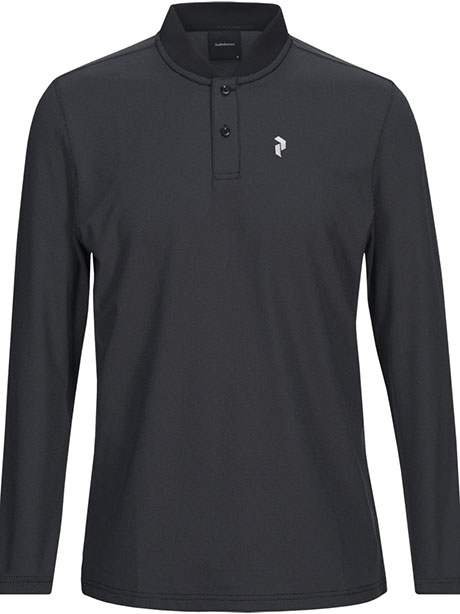 Austin LS Polo(050 Black, M)