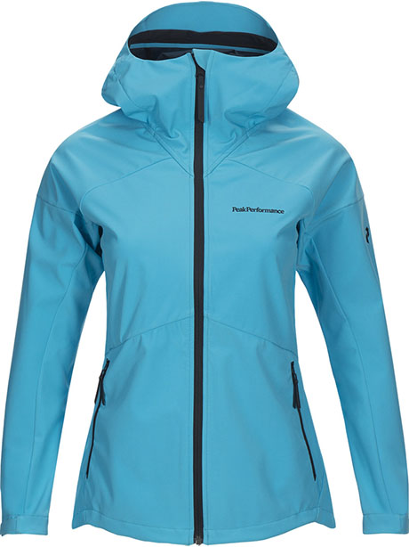 W Adventure Hood Jacket(2V6 LT Mosaic Blue, S)