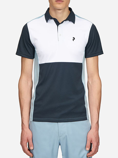 Race Tour Polo(2AN Downy Blue, L)