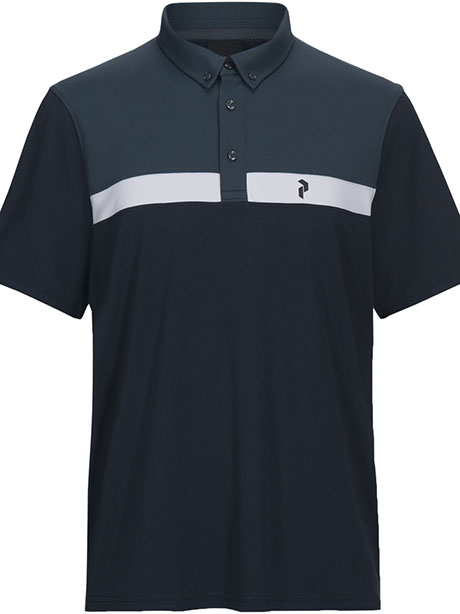 Panmore Button Down Polo(2N3 Blue Shadow, M)