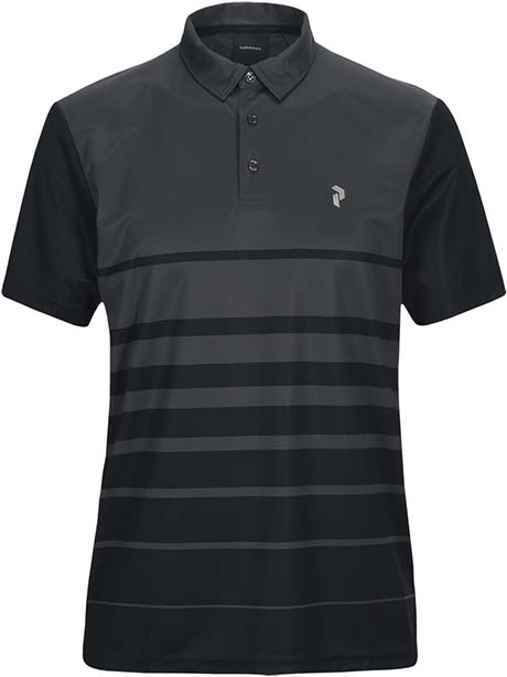 Bandon Print Polo(06P Iron Cast, L)