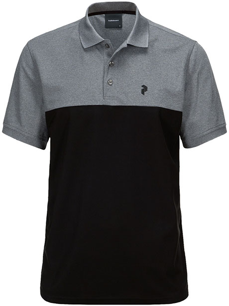 Spin Polo(050 Black, M)