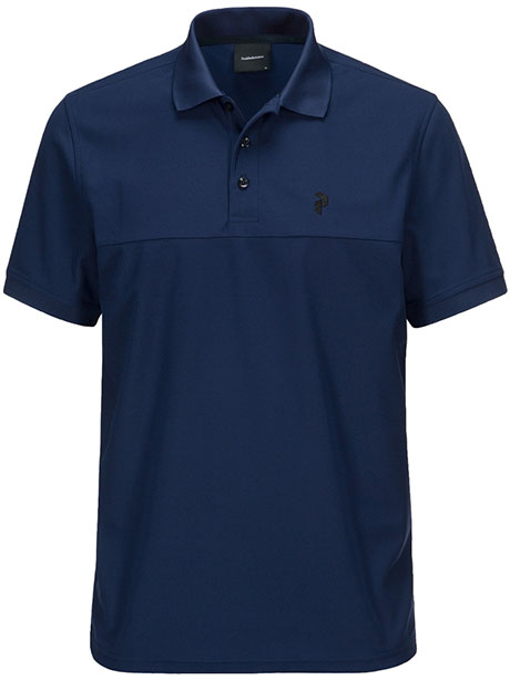 Spin Polo(2AC Salute Blue, L)