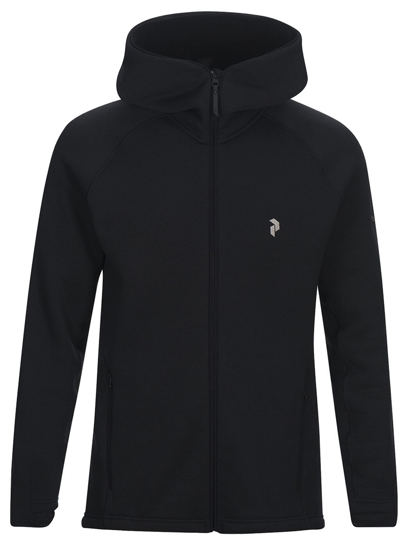 Chill Zip Hood(050 Black, M)