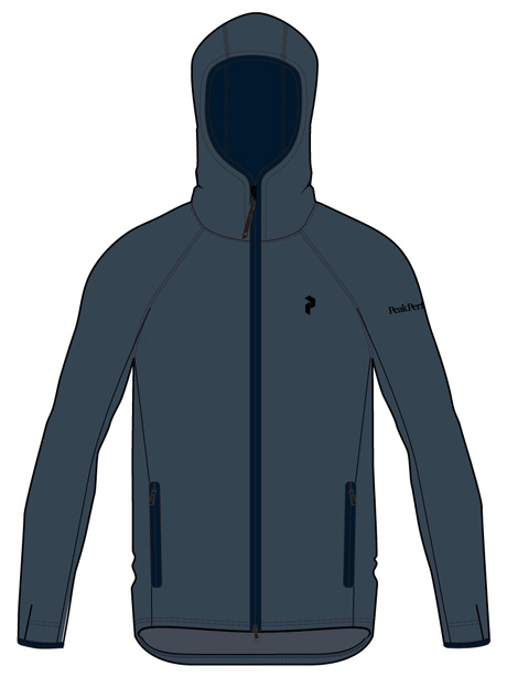 Chill Zip Hood(2Z8 Blue Steel, L)