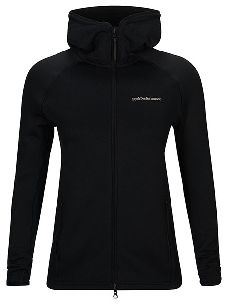 W Chill Zip Hood(050 Black, S)