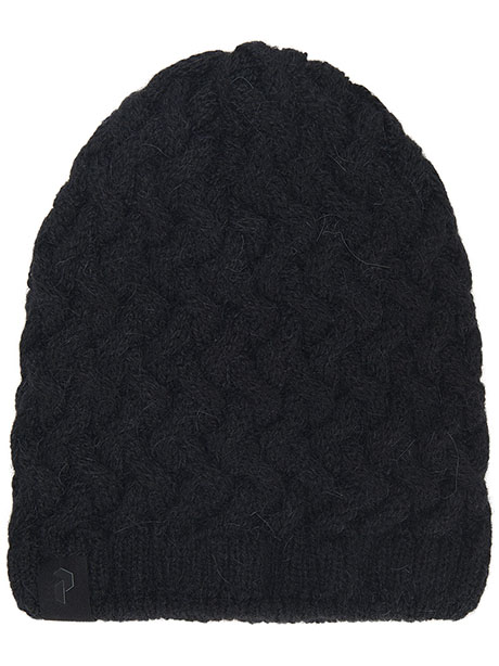 Embo Knit Hat(050 Black, L-XL)