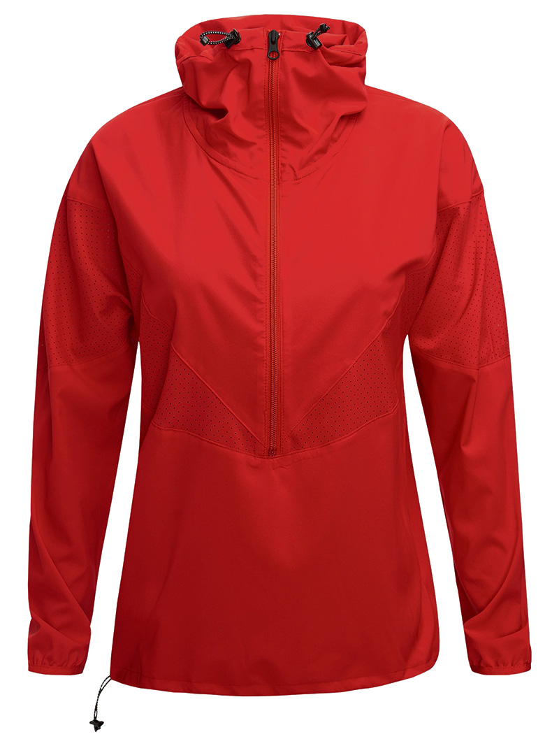 W HIT Half Zip(5EU Vibrant Red, XS)