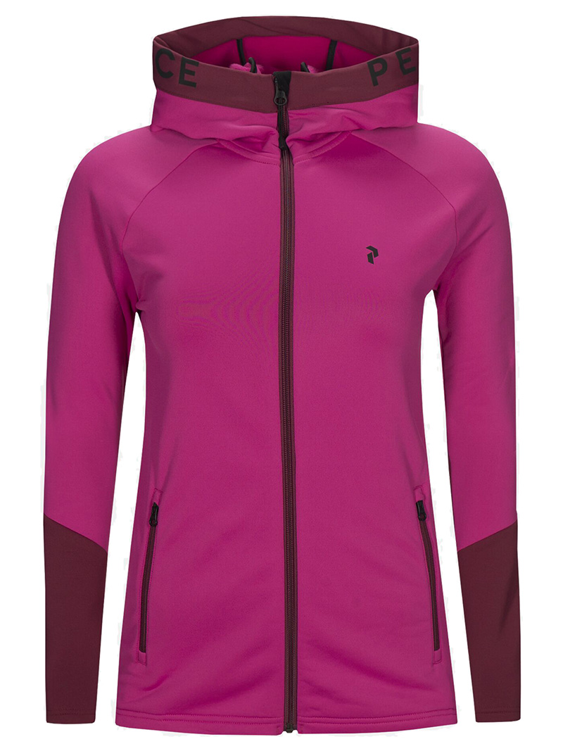 W Rider Zip Hood(50M Power Pink, M)