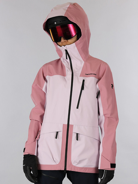 W Vertical 3L Jacket(53A Frosty Rose, XS)