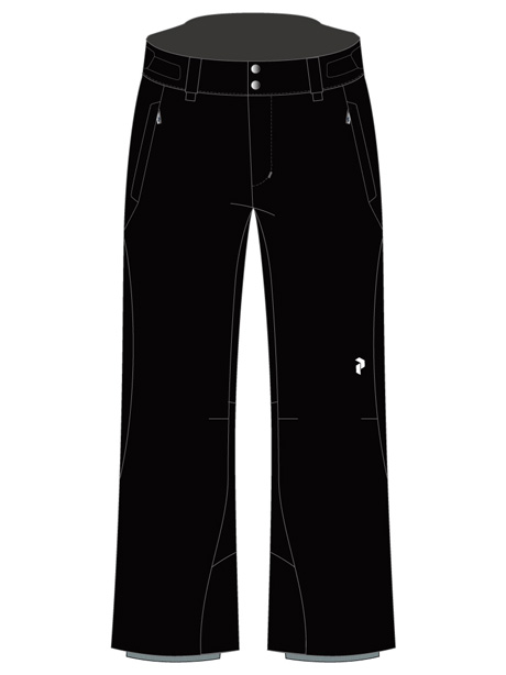 W Anima Pants(050 Black, S)
