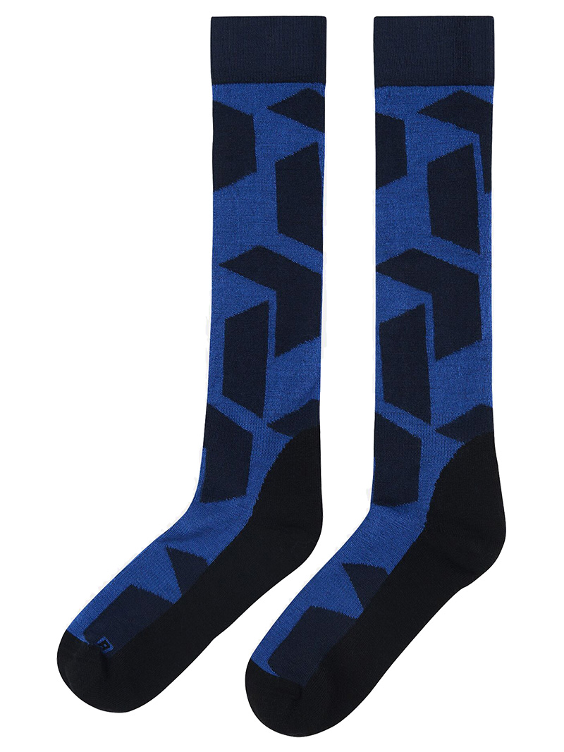 Ski Socks(2N3 Blue Shadow, 39-42)