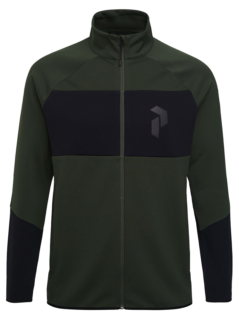 Prem Zip(4DT Drift Green, L)
