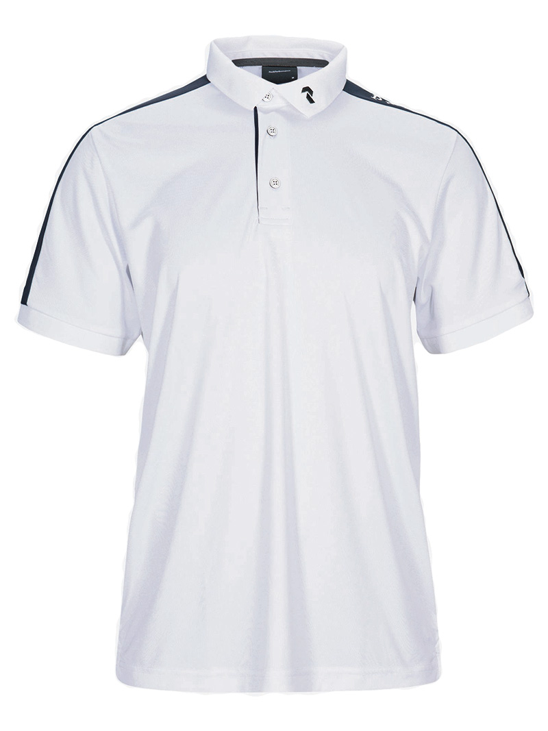 Player Polo Short Sleeve(089 White, L)