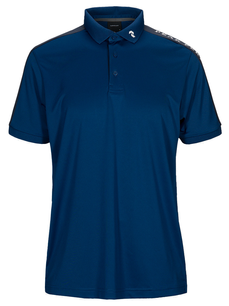 Player Polo Short Sleeve(2BP Cimmerian Blue, M)