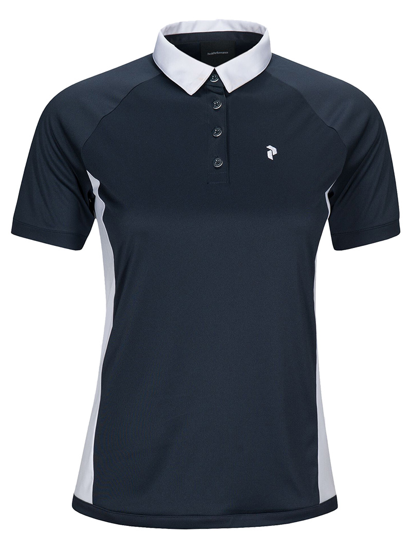 W Slate Block Polo(2N3 Blue Shadow, M)
