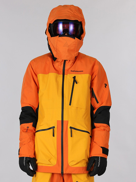 Vertical Pro Jacket(86X Orange Altitude, M)