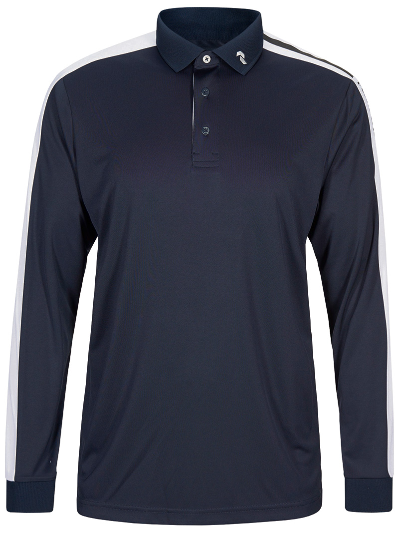 Player Polo LS(2N3 Blue Shadow, M)