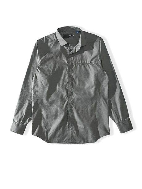 Forceful Formal Shirt(ZZT Steel, S)