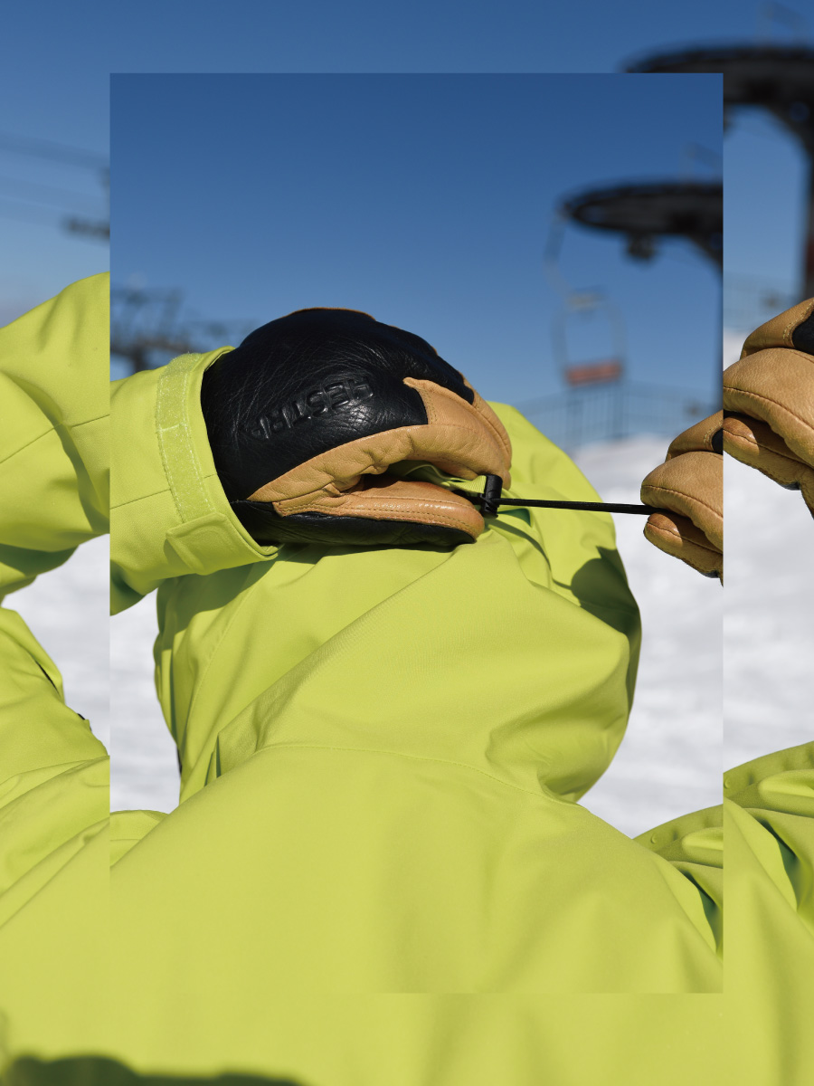マルーンの魅力 A great all-round ski jacket for every skiers
